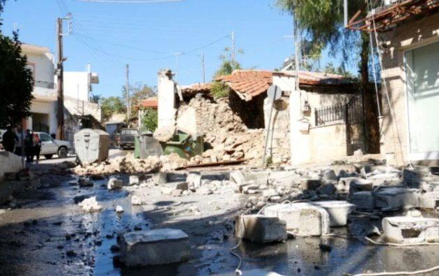 6 Ρίχτερ ο σεισμός στην Κρήτη – Προειδοποίηση για ισχυρούς μετασεισμούς