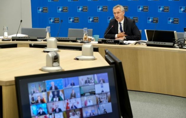 Στόλτενμπεργκ: Δεν θα δεχτούμε το Αφγανιστάν ως καταφύγιο τρομοκρατών