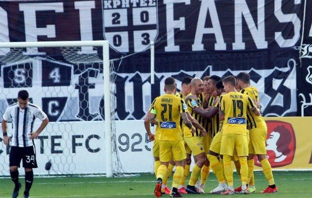 Η ΑΕΚ «κατάφερε» σε 12 λεπτά να δεχτεί 3 γκολ από τον ΟΦΗ