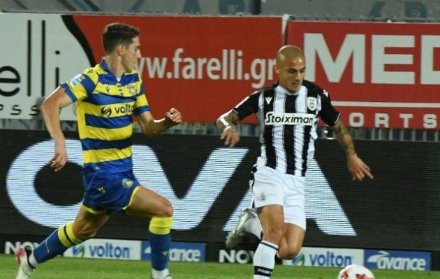 Νίκη του ΠΑΟΚ στην Τρίπολη 1-0 τον Αστέρα