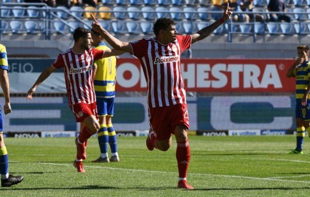 «Καθάρισε» 2-0 τον Αστέρα Τρίπολης ο Ολυμπιακός