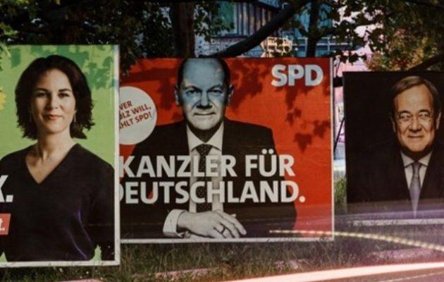 Γερμανικές εκλογές: Προβάδισμα 1,2%-1,5% του Σολτς – Τα μετεκλογικά σενάρια