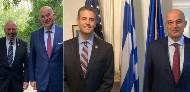 Νίκος Δένδιας από Ουάσιγκτον: «Η Ελλάδα είναι παντού!»