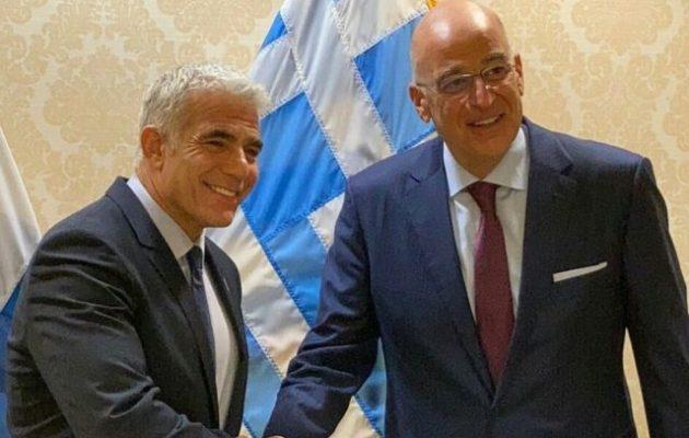 Ο Νίκος Δένδιας συναντήθηκε με τον ΥΠΕΞ του Ισραήλ στην Ουάσιγκτον