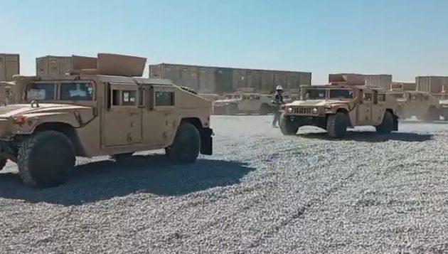 Οι ΗΠΑ παρέδωσαν στους Κούρδους Πεσμεργκά τεθωρακισμένα οχήματα